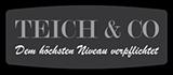 Teich & Co. – Peschen und Holubar Logo